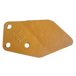3053596 3053595 EX70 3holes side cutter for excavator spare parts