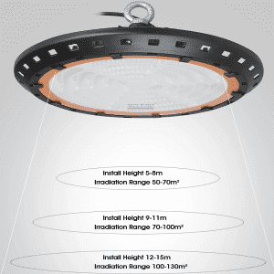 High brightness ip65 waterproof UFO led high bay light
