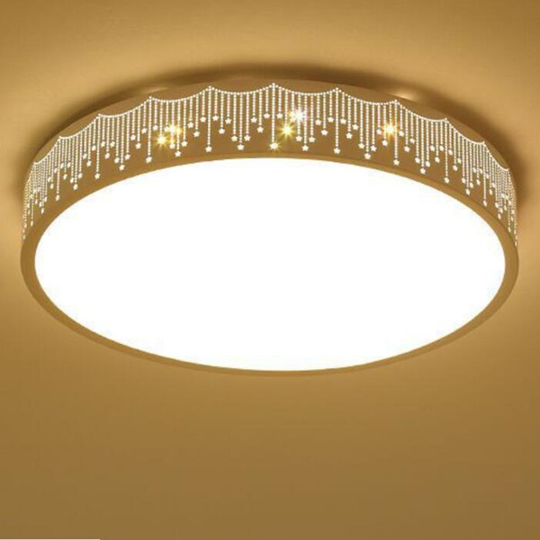 Round Simple Ceiling Lights Dimming Ceiling LED Lamps for Restaurante Featured Image