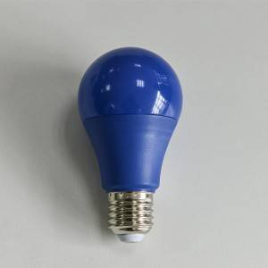 colored LED bulb for decoration
