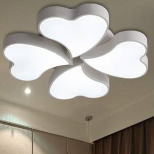 Modern 4-Lucky Leaves Lighting Flush Mount Ceiling Lamp Light Fixture for Home