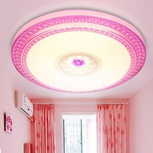 Indoor Round Led Ceiling Light Surface Mounted Night Light 24W and 32W for Dining Room