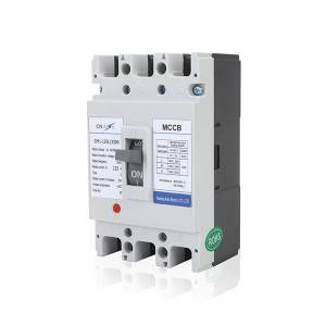 L Type 125A 3Pole MCCB Moulded Case Circuit Breaker