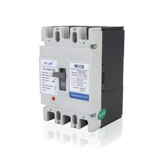 M Type 250A 3Pole MCCB Moulded Case Circuit Breaker
