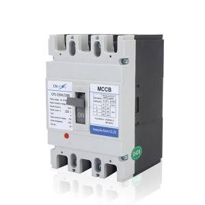 H Type 250A 3Pole MCCB Moulded Case Circuit Breaker