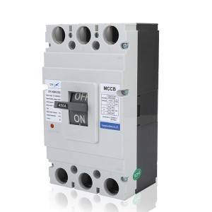 M Type 400A 3Pole MCCB Moulded Case Circuit Breaker