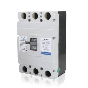 M Type 630A 3Pole MCCB Moulded Case Circuit Breaker