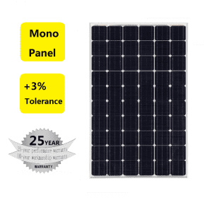 Alicosolar 250W-270W monocrystalline home and commercial use solar panel