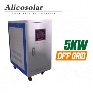 5kva Off Grid Solar Power System Solar Inverter With Battery Charger