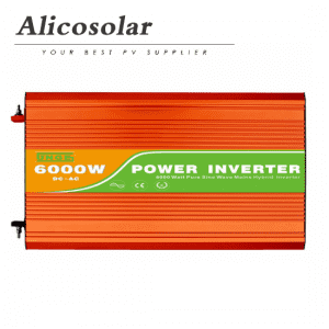Off Grid Single Phase Ac 110V 115V 120V 220V 230V 240V 6kw Solar Inverter
