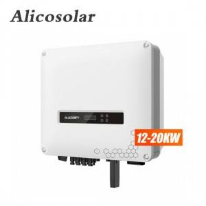 High Voltage Solar Inverter 415v Grid Tie 30kw 40kw 50kw 60kva Three Phase Solar Inverter Solar Power Inversor
