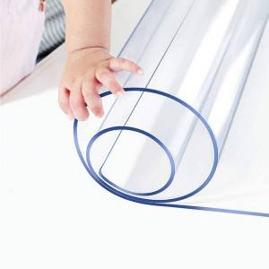 Transparent PVC mat for Desk&Floor Protector