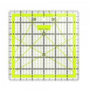 Acrylic ruler, 6*6 inch,  Acrylic quilting ruler