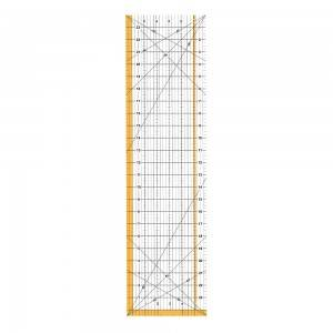 Acrylic ruler, 6.5*24 inch,  Acrylic quilting ruler