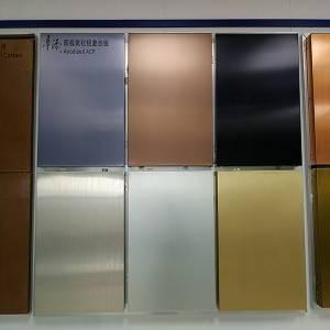 Anodized Aluminium Composite Panel