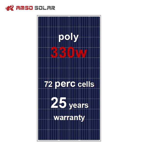 72 cells standard size mono black solar panels 330w Featured Image