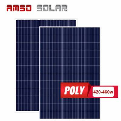 96 cells poly solar panels 420w430w450w460w