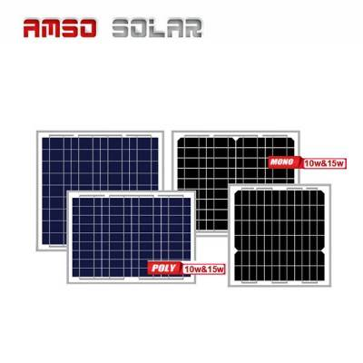 Mini size customized mono solar panels 10w15w