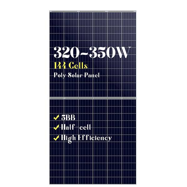 5BB 144 cells poly solar panels 320w330w340w350w Featured Image