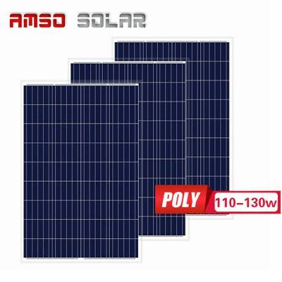 Small size customized mono solar panels 110w120w130w