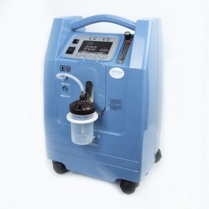 Rechargeable 5L Oxygen Concentrator with High Purity 93% (AC, DC, Batteries)
