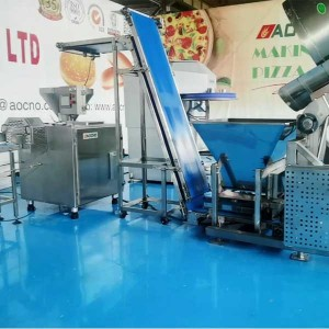 Multifunctional bread production line