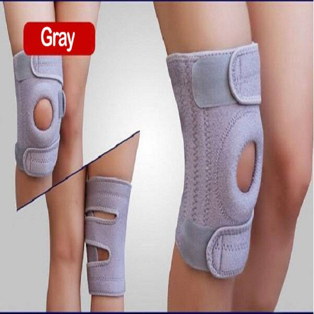 Basketball neoprene knee brace pads support hinges