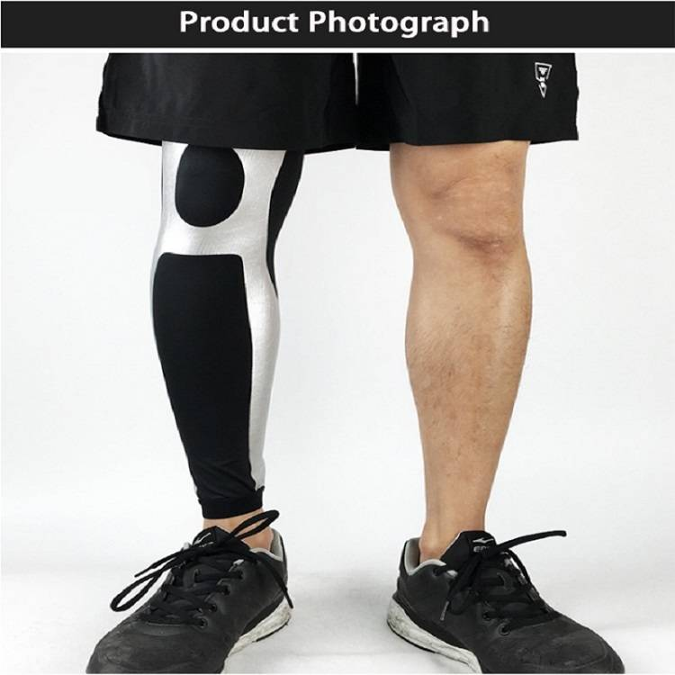 Copper knee sleeve pain relief laser sportswear