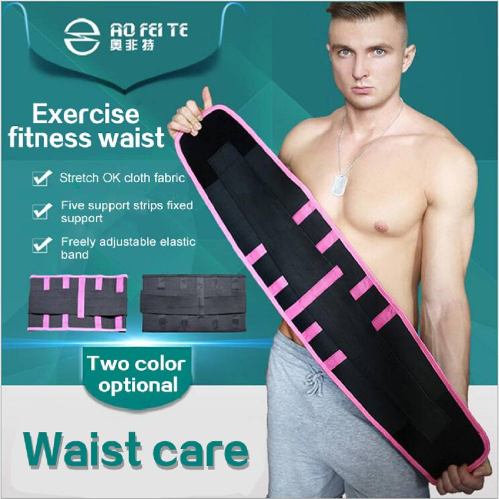 Slimming waist shaper trimmer belt exercise fitness