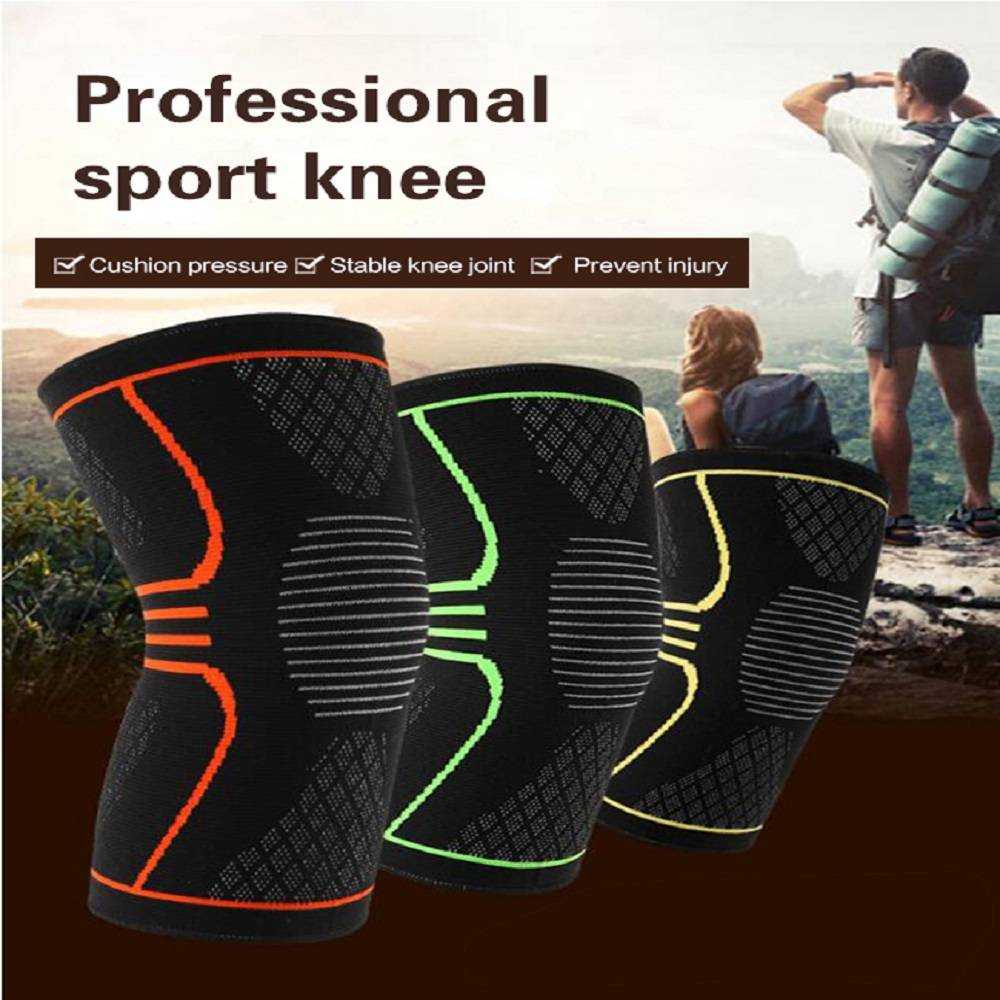 Magnetic compression knee support sleeves brace Featured Image