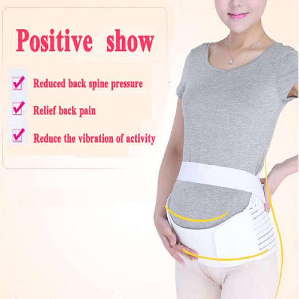 Maternity Pads With Garter Belt Breathable Brace