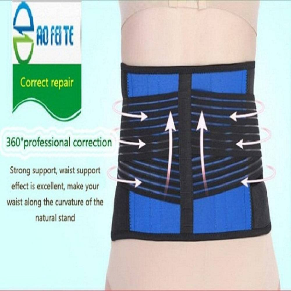 Medical back support straightening orthopedic waist belt Featured Image