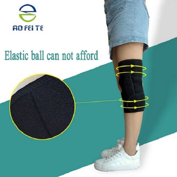 Knee Support Sleeve For Weightlifting And Fitness Featured Image