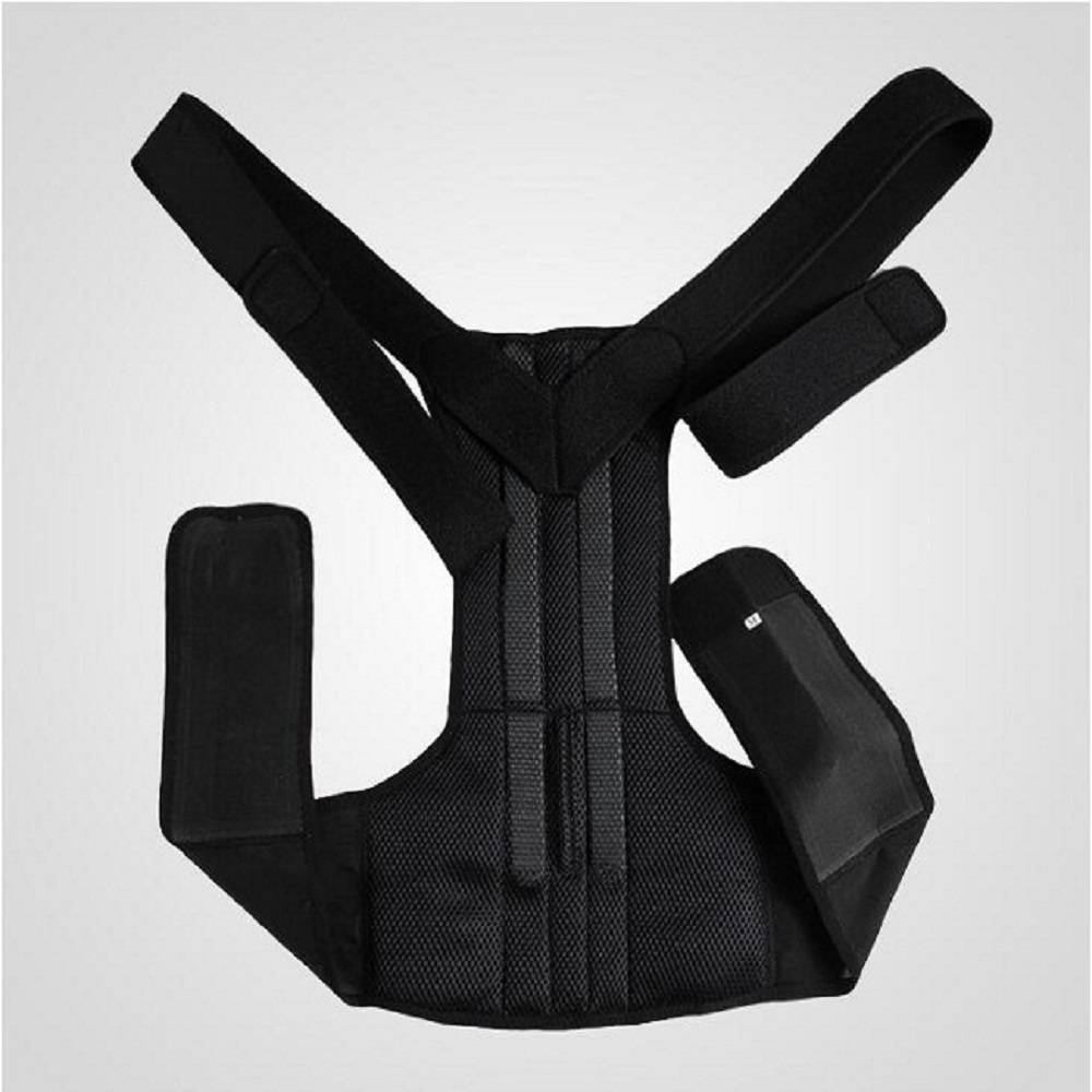 Back posture corrector shoulder support brace belt