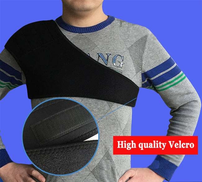 Velcro shoulder heating pads brace walmart support