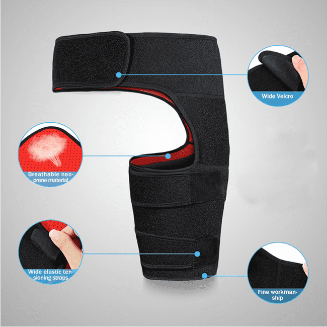Recovery Thigh Wrap Support Brace