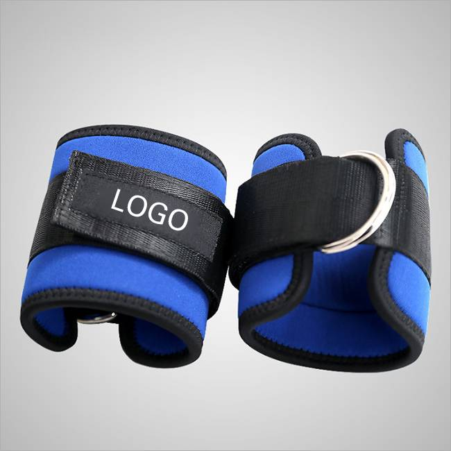 Fitness Adjustable D-Ring Ankle Straps