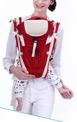 One-shoulder multi-functional baby carrier sling