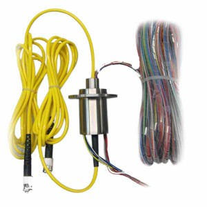 Fiber Optic Hybrid Slip Rings