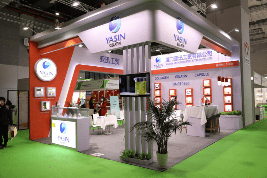 Yasin Gelatin paticipates in the Healthplex Expo 2020