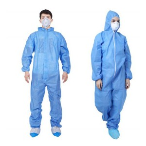 Disposable Isolation Clothes in safety clothing...