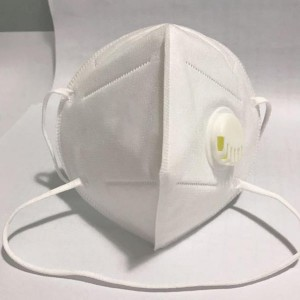Anti-coronavirus (COVID-19) Disposable FFP2 KN95 Face Mask Respirator Dust