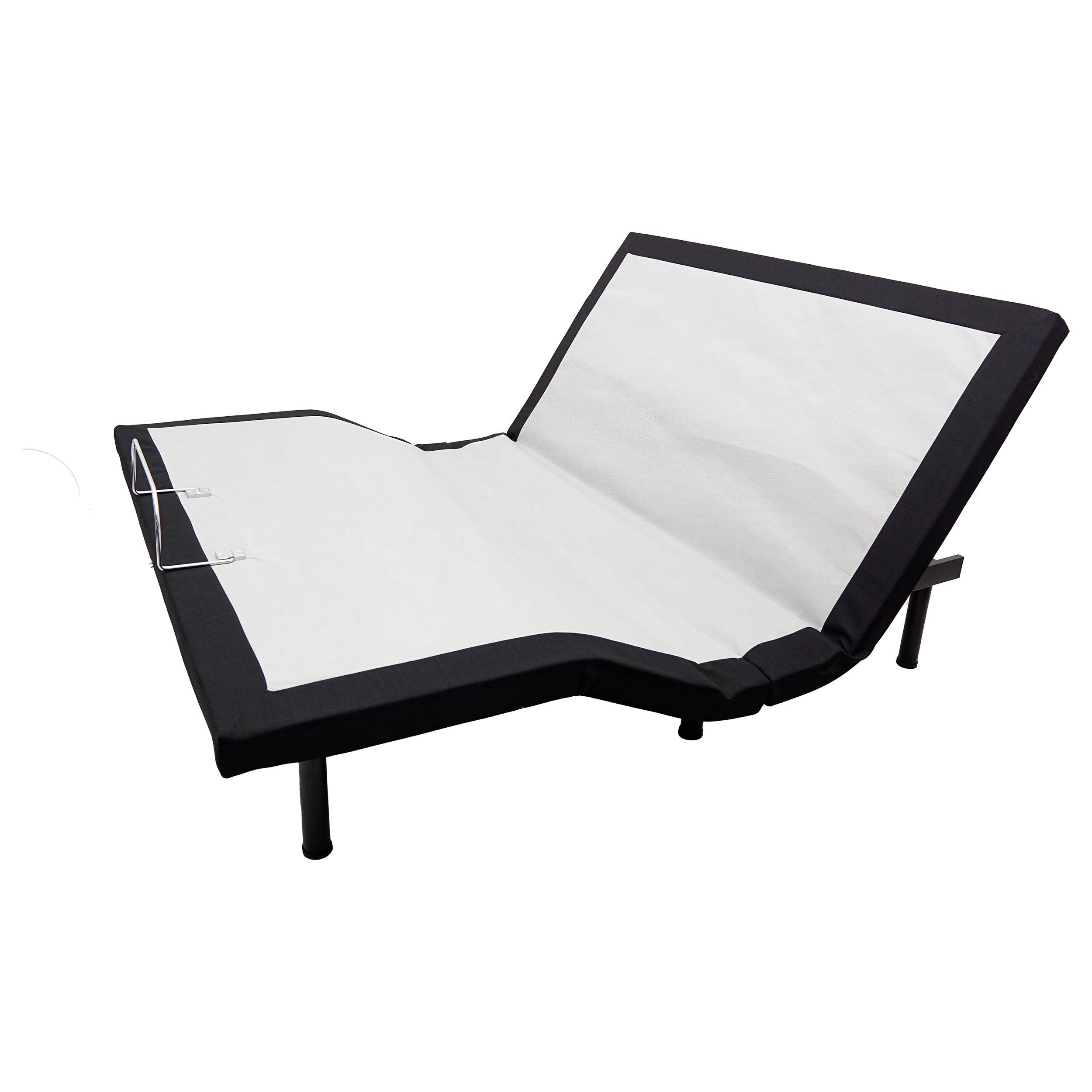 Bluetooth & App customizable 3 linear-motors adjustable bed base with neck tilt & massage
