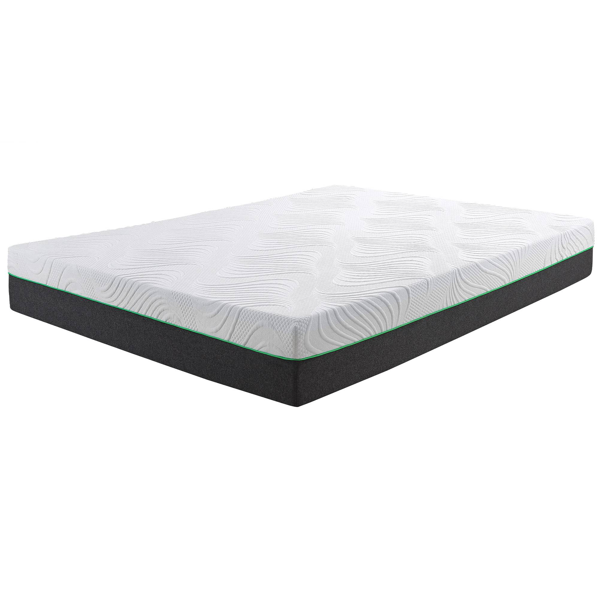 "Medium-firm 10""Back-Care Memory Foam Mattress"