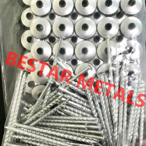 Steel Nail Umbrella Roofing Nail