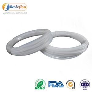 Tubing ptfe high temperature milky white | BESTEFLON