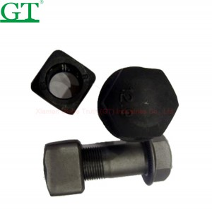 2018 China New Design Track Roller - wheel bolt , 10.9-12.9 grade, material 40Cr. – Globe Truth