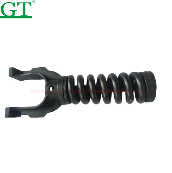 Sell Excavator E320L recoil spring track adjuster assembly spring recoil assy Idler adjuster excavator parts sf no.7Y1606 Featured Image