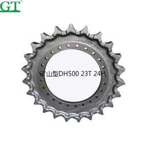 PriceList for Construction Machine Parts - EC140BL VOE14557971 Sprocket for excavator part – Globe Truth