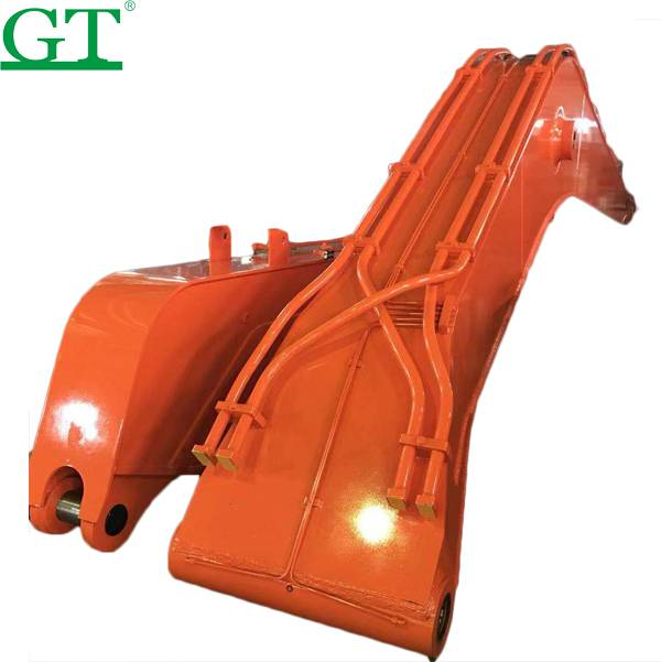Excavator parts attachments long reach boom and arm